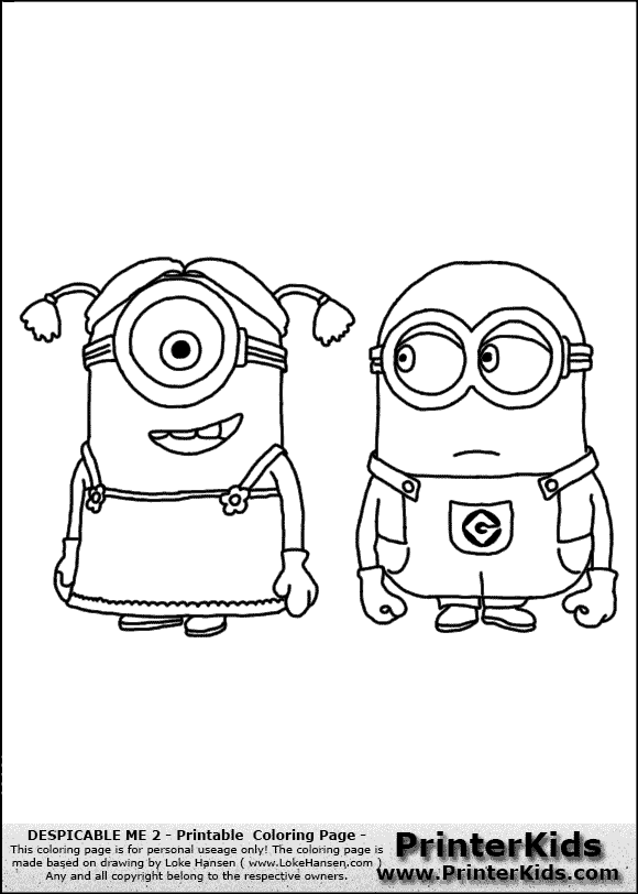 despicable me minion coloring pages dave | special offers - Despicable Coloring Pages Dave